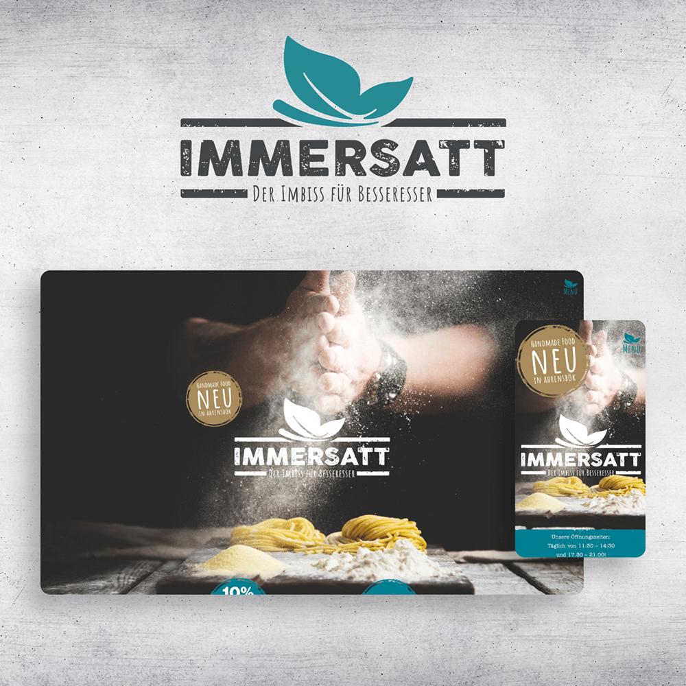 Uniserv Referenzen Immersatt Website
